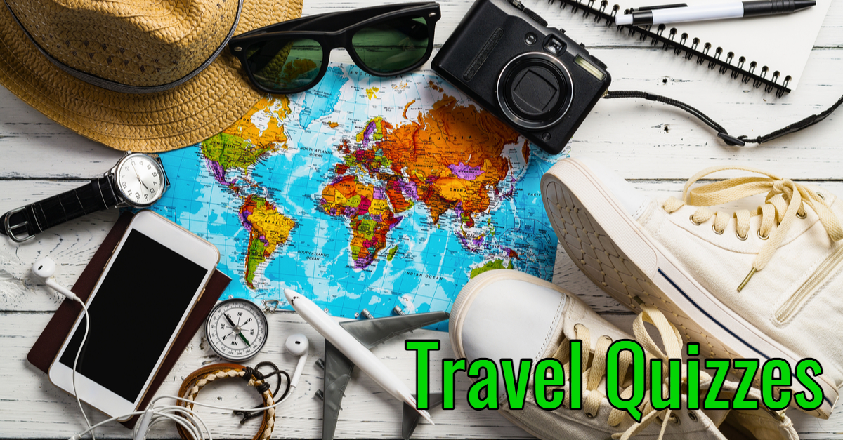 Check out our travel quizzes as part of our daily quizzes