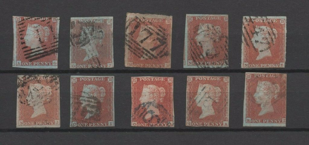 Stamp Collecting Quiz – GB QV Line Engraved Stamps