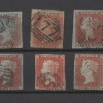 Stamp Collecting Quiz - GB QV Line Engraved Stamps
