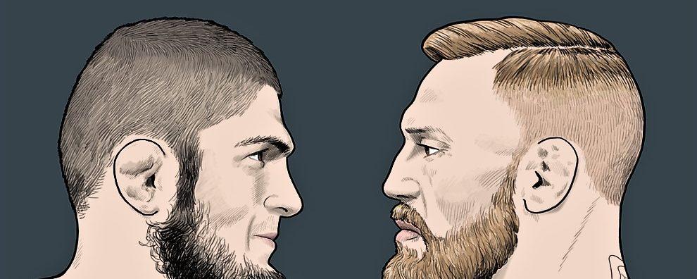 Conor Mcgregor v Khabib Nurmagomedov! UFC!