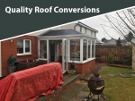 Marshall Conservatory Conversions