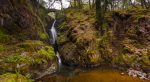 A picture of the waterfall Aira Force in Penrith near Ullswater