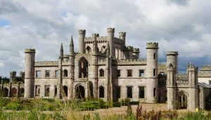 Lowther castle in Penrith