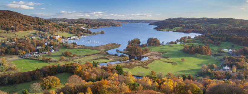 Lake windermere a perfect place to visit when staying in hotels in cumbria