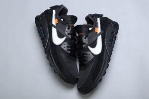 Off White x Nike Air Max 90 Black   Fashion