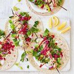 Chicken And Lemon Skewers Recipe