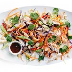 Low Calorie: Asian Pulled Chicken Salad