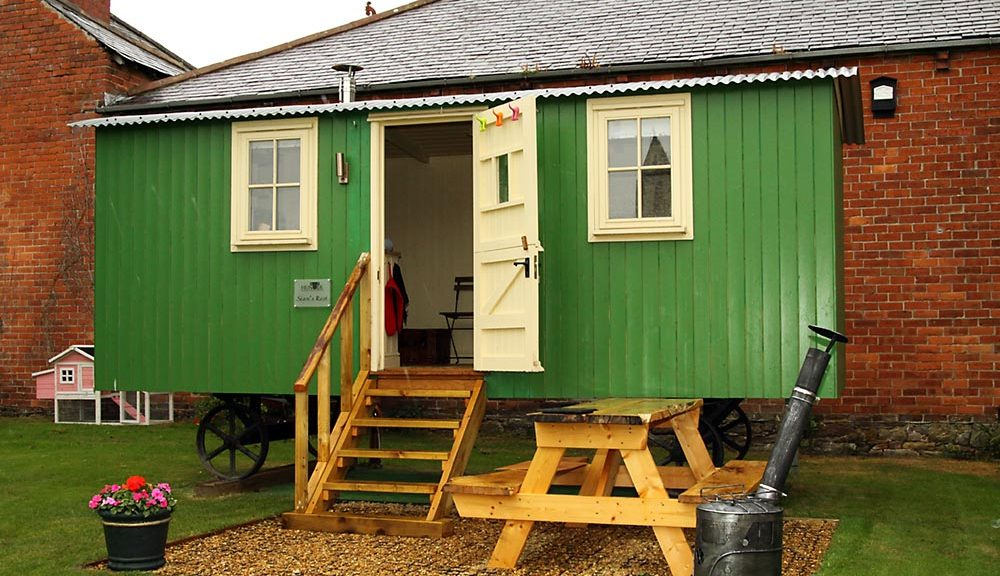 Bowness-on-Solway Shepherd Huts