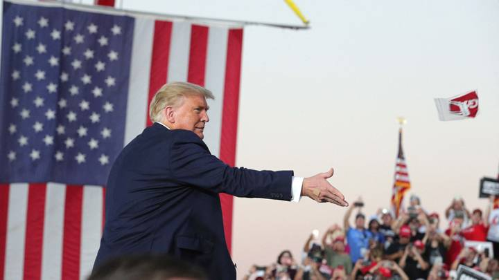 Trump Affectionately Addresses Florida Crowd