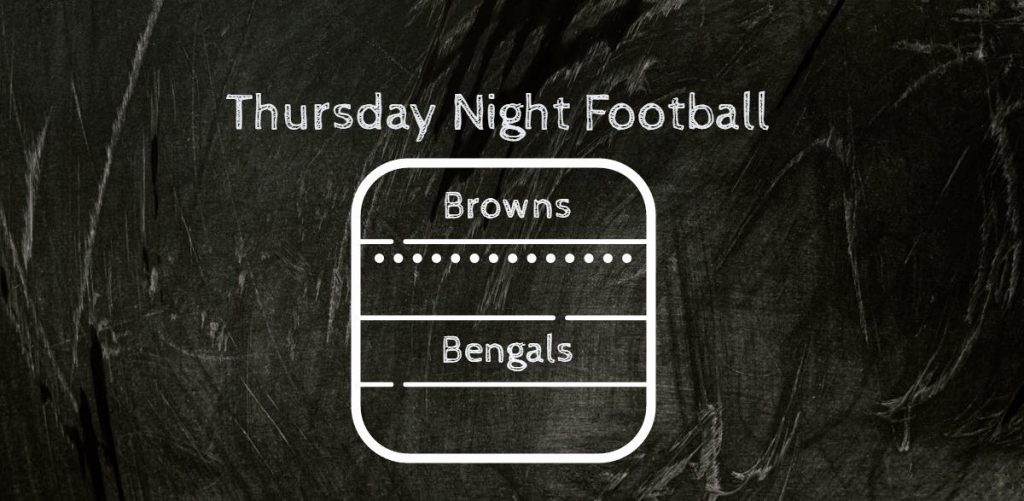 NFL Week Two Thursday Night Football Browns v Bengals