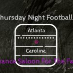 Thursday Night Football - Last Chance For The Falcons.