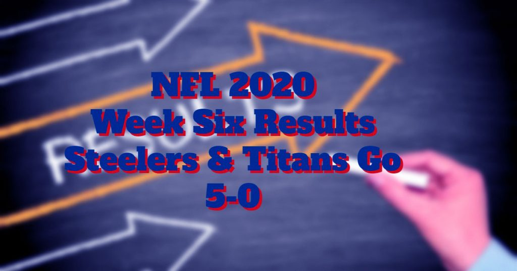 NFL Week Six Results The NFC Easts Woes Continue