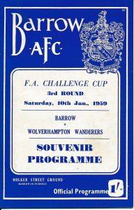 Barrow AFC v Wolves