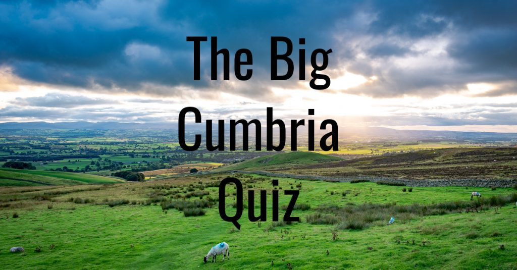 Big Cumbria Quiz Leaderboard